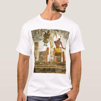 Camiseta Os deuses Osiris e Atum, do túmulo de