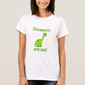Camiseta Os dinossauros são legal