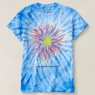 Camiseta Os doces molham o artista do autismo