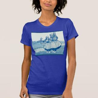 Camiseta Os Dutch do vintage projetam, 1905, família pelo