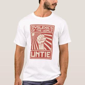 Camiseta Os Dyslexics do mundo DESATAM