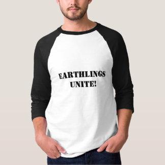 CAMISETA OS EARTHLINGS UNEM-SE!