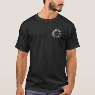 Camiseta Os editores desatam o t-shirt escuro