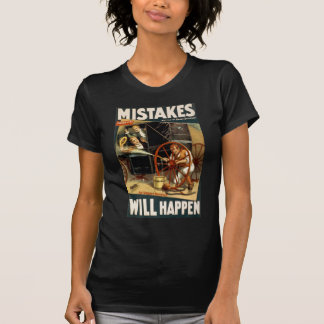 Camiseta Os erros acontecerão