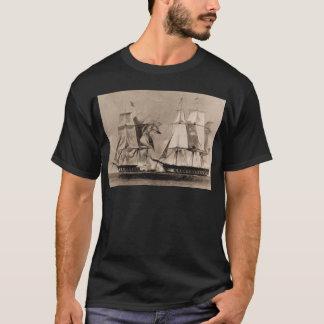 Camiseta Os Estados Unidos 1798, navio histórico dos E.U.
