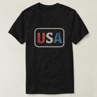 Camiseta Os Estados Unidos da América dos EUA do vintage