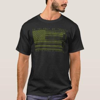 Camiseta Os Estados Unidos do t-shirt de Generica