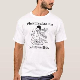 """Camiseta Os """"farmacêuticos são"""" t-shirt indispensável"""