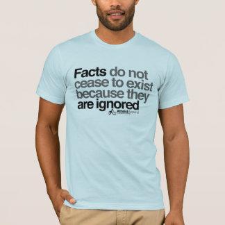 Camiseta Os fatos de Aldous Huxley não cessam de existir