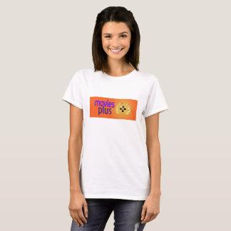 Camiseta Os filmes mais são um canal de televisão do fogo e