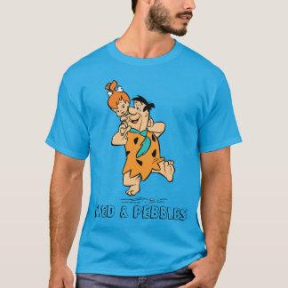 Camiseta Os Flintstones | Fred & Flintstone dos seixos