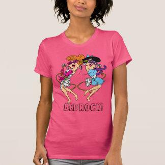 Camiseta Os Flintstones   Wilma & estrelas do rock de Betty