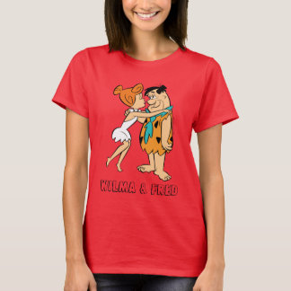 Camiseta Os Flintstones | Wilma que beija Fred