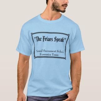 """Camiseta """"Os frades falam"""", sacramento abençoado"""