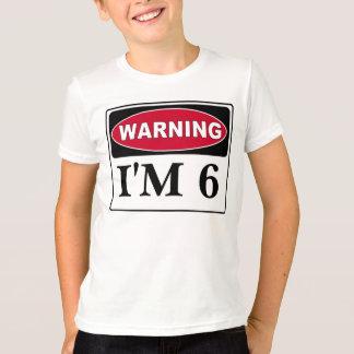 Camiseta Os ganhos do aniversário de criança, personalizam