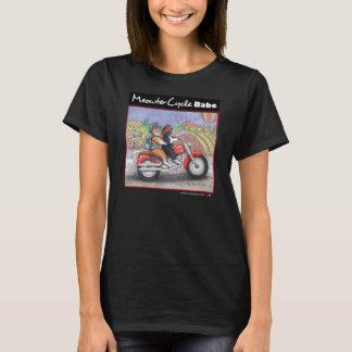 Camiseta Os gatos da motocicleta multam o t-shirt do jérsei