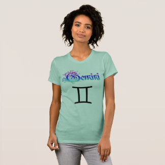 Camiseta Os Gêmeos do sinal do zodíaco do horóscopo juntam