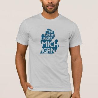Camiseta Os grandes lagos Michigan
