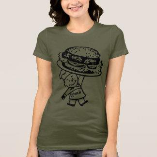 Camiseta Os Hamburger retros de Zim do kitsch do vintage