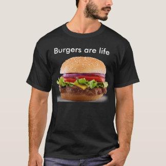 Camiseta Os hamburgueres são vida