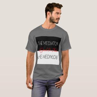 Camiseta Os homens do t-shirt do mediador