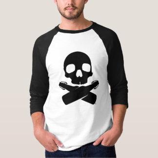 Camiseta Os homens enegrecem para fora o T