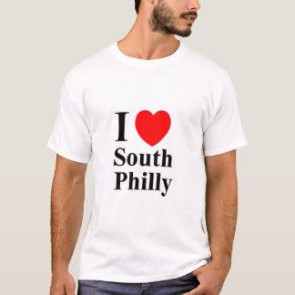 Camiseta Os HOMENS ' S eu amo o TShirt sul de Philly -