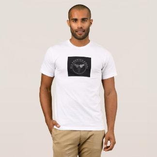 Camiseta Os homens Short o t-shirt da luva