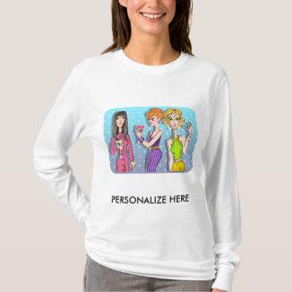 Camiseta Os Hoodies, suam - três divas de Martini