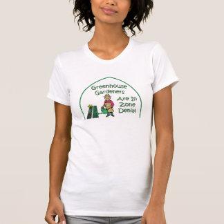 Camiseta Os jardineiro da estufa estão na recusa da zona