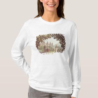 Camiseta Os jardins do castelo de Windsor