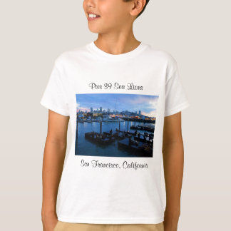 Camiseta Os leões de mar #7 do cais 39 de San Francisco