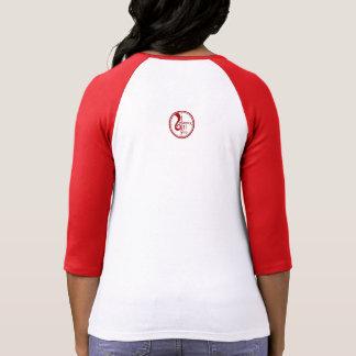 Camiseta Os louros têm mais divertimento - T vermelho do