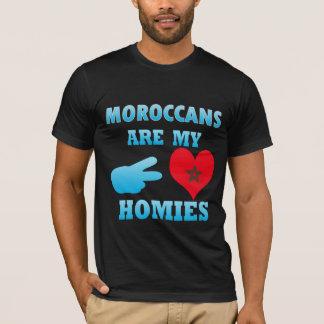 Camiseta Os marroquinos são meu Homies