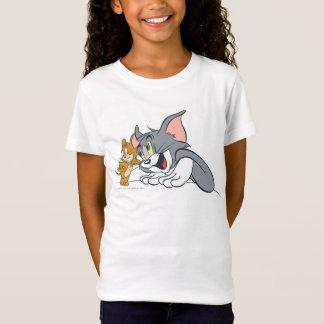Camiseta Os melhores botões de Tom e de Jerry