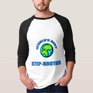 Camiseta Os melhores Etapa-Irmãos do mundo