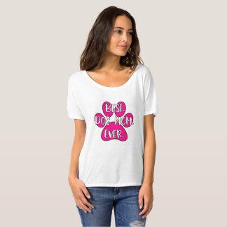 Camiseta Os melhores t-shirt do cão do amor da mamã do cão