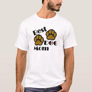 Camiseta Os melhores t-shirt e presentes da mamã do cão