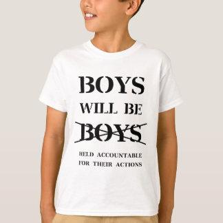 Camiseta Os meninos serão meninos (a praga livre)