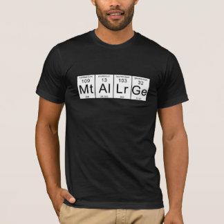Camiseta Os metalurgista da metalurgia unem-se!