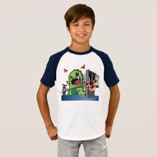 Camiseta Os miúdos do girador da inquietação Short o