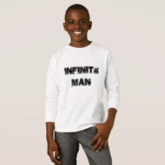 Camiseta Os miúdos infinitos equipam a parte superior de