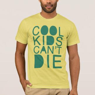 Camiseta Os miúdos legal não podem morrer