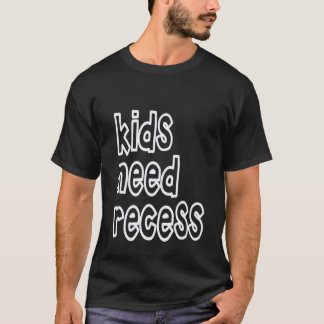 Camiseta Os miúdos precisam o t-shirt do rebaixo