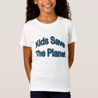 Camiseta Os miúdos salvar o planeta