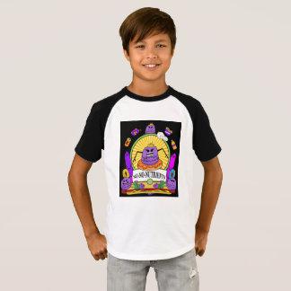 Camiseta Os miúdos Short o poder de Munchi do t-shirt do