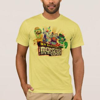 Camiseta Os monstro super comeram meu condomínio - o T dos