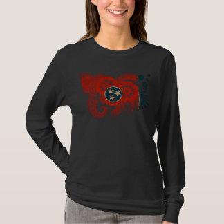 Camiseta Os olhares originais do design da bandeira como