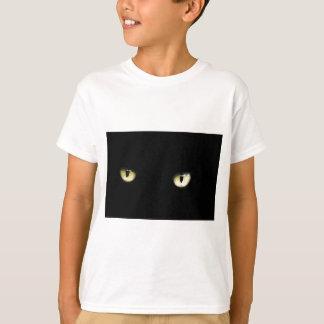 Camiseta Os olhos de gato preto