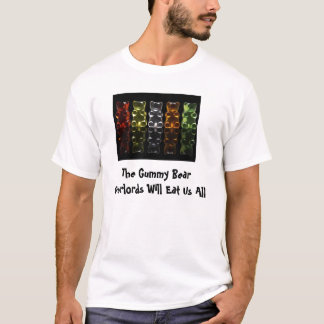 Camiseta Os Overlords gomosos do urso comerão U…
